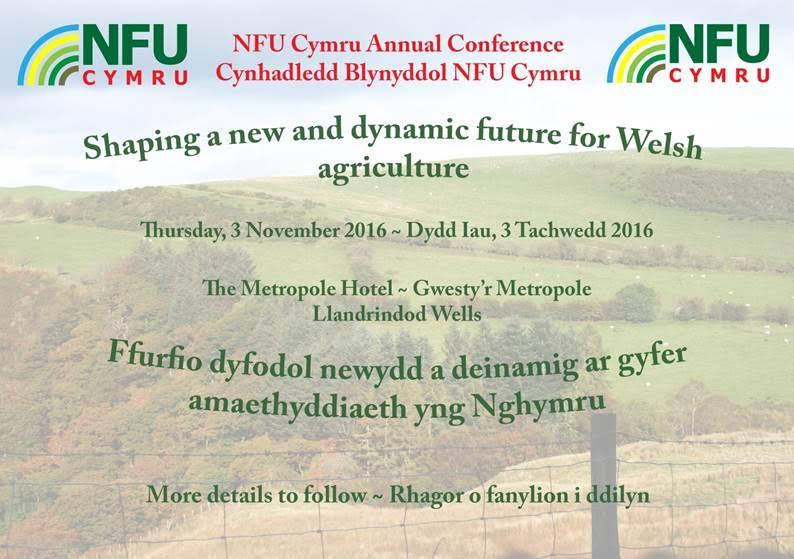 NFU Cymru Conference 2016