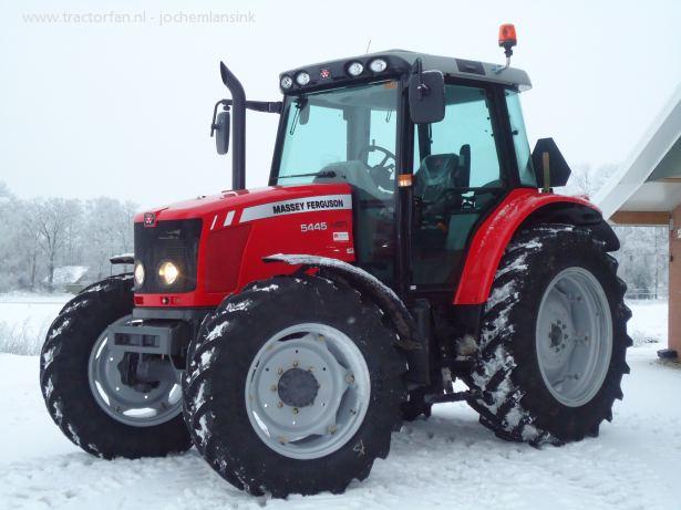 Massey Ferguson 5400 Series Dyna 4 5445 From Farming Uk
