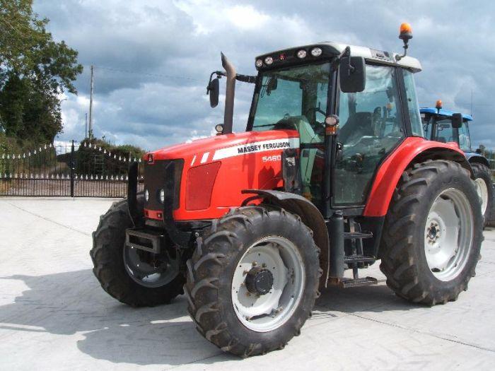 Massey Ferguson 5400 Series Dyna 4 5460 From Farming Uk