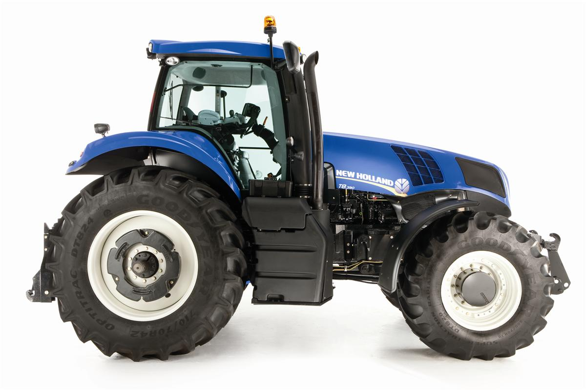 Power Wheels Tractor >> New Holland Series T8. Ultra Command-T8.300 from Farming UK