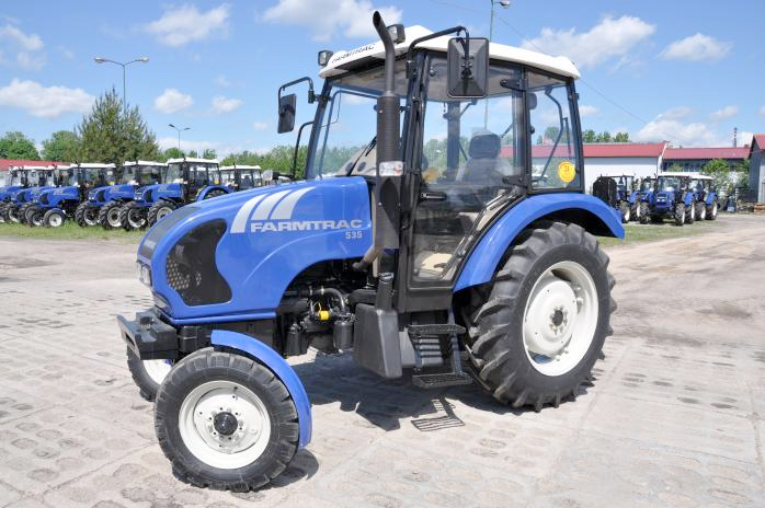Farmtrac 535 operating manual on