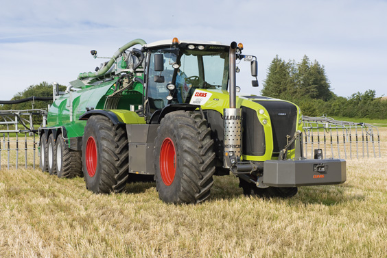 Claas Xerion 5000 Trac Vc From Farming Uk