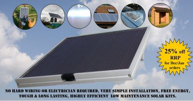 New Solar Light Kits For Outbuildings Farming Uk News