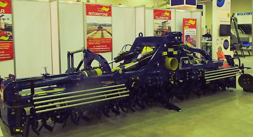 The new Heavy Duty Tiller from potato equipment specialist George Moate Ltd is designed to work on tractors of up to 390hp.