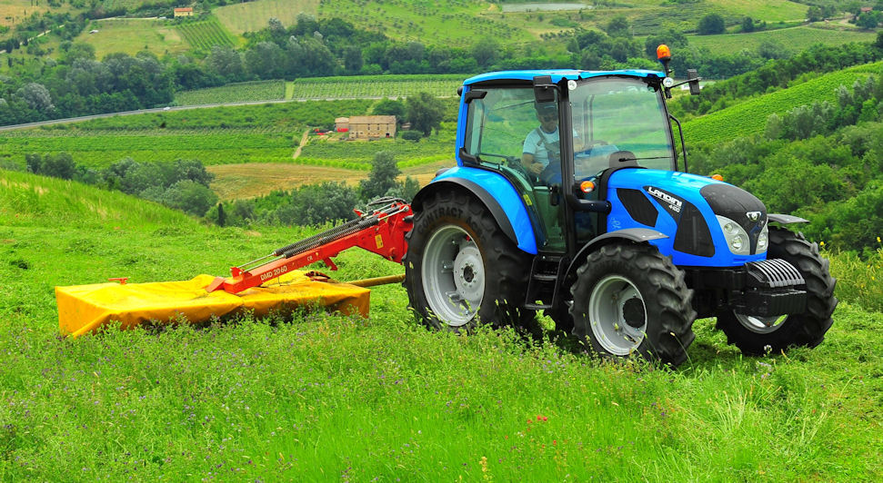 On show: smaller models with lower power outputs from 61-75hp will extend the new Landini 4 Series in 2015.