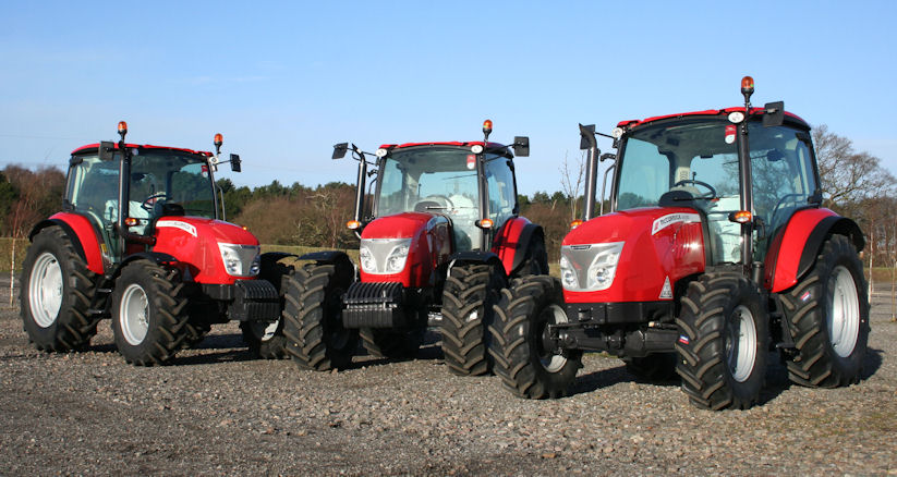 From left: McCormick X4.70, X5.40 and X4.30