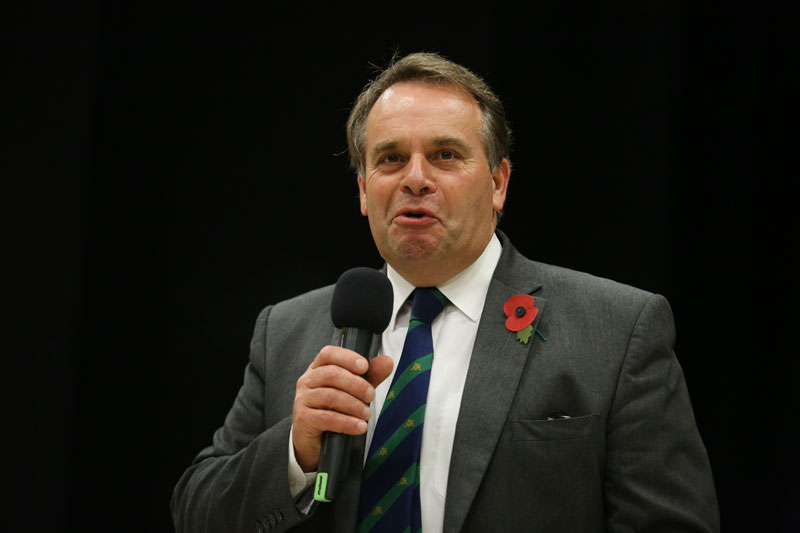 Neil Parish, chairman of the House of Commons Environment, Food and Rural Affairs (EFRA) committee