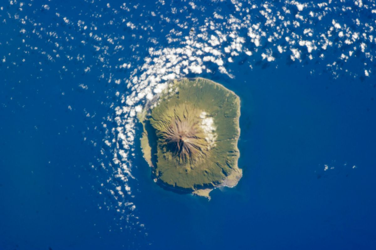 Tristan de Cuhna, which has a population of just over 300, is over 1,500 miles away from the nearest neighbouring landmass