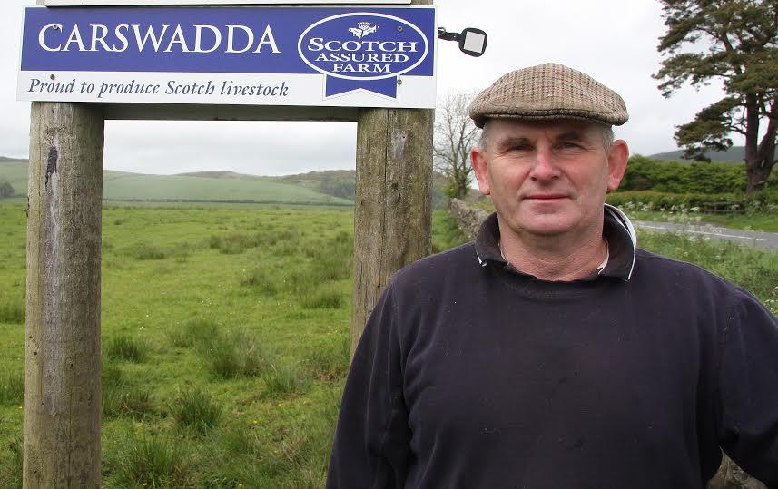 Scott Henderson, Chairman of the Scottish Beef Association