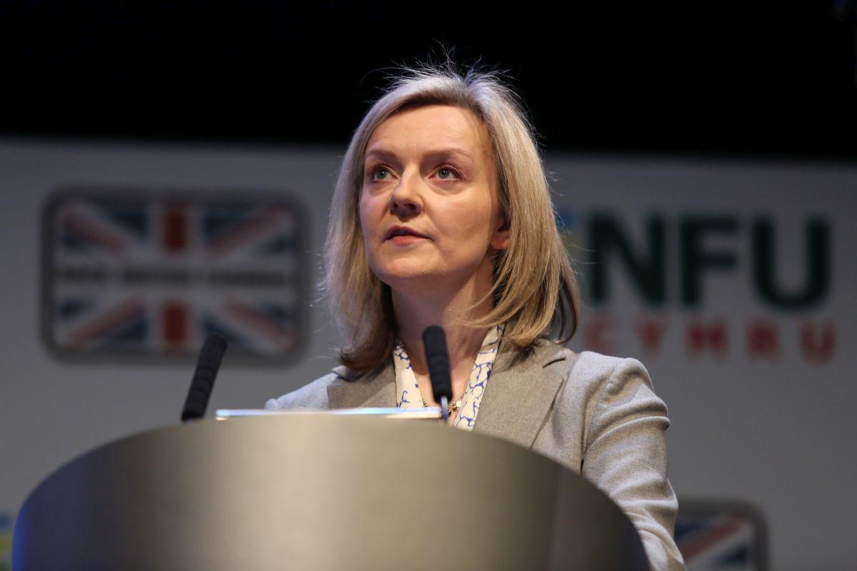 Environment Minister Elizabeth Truss