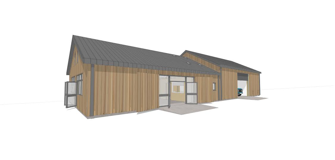 BHWT Rehoming Centre - 3D Preview