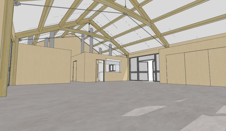 BHWT Rehoming Centre - 3D Inside Preview