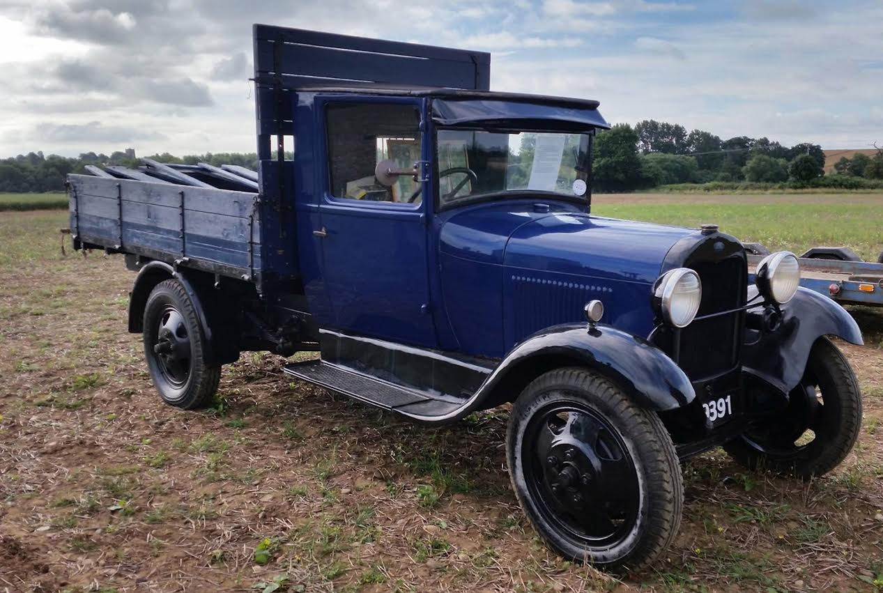 A 1931 Ford Model A Market pickup truck which sold for £11,500