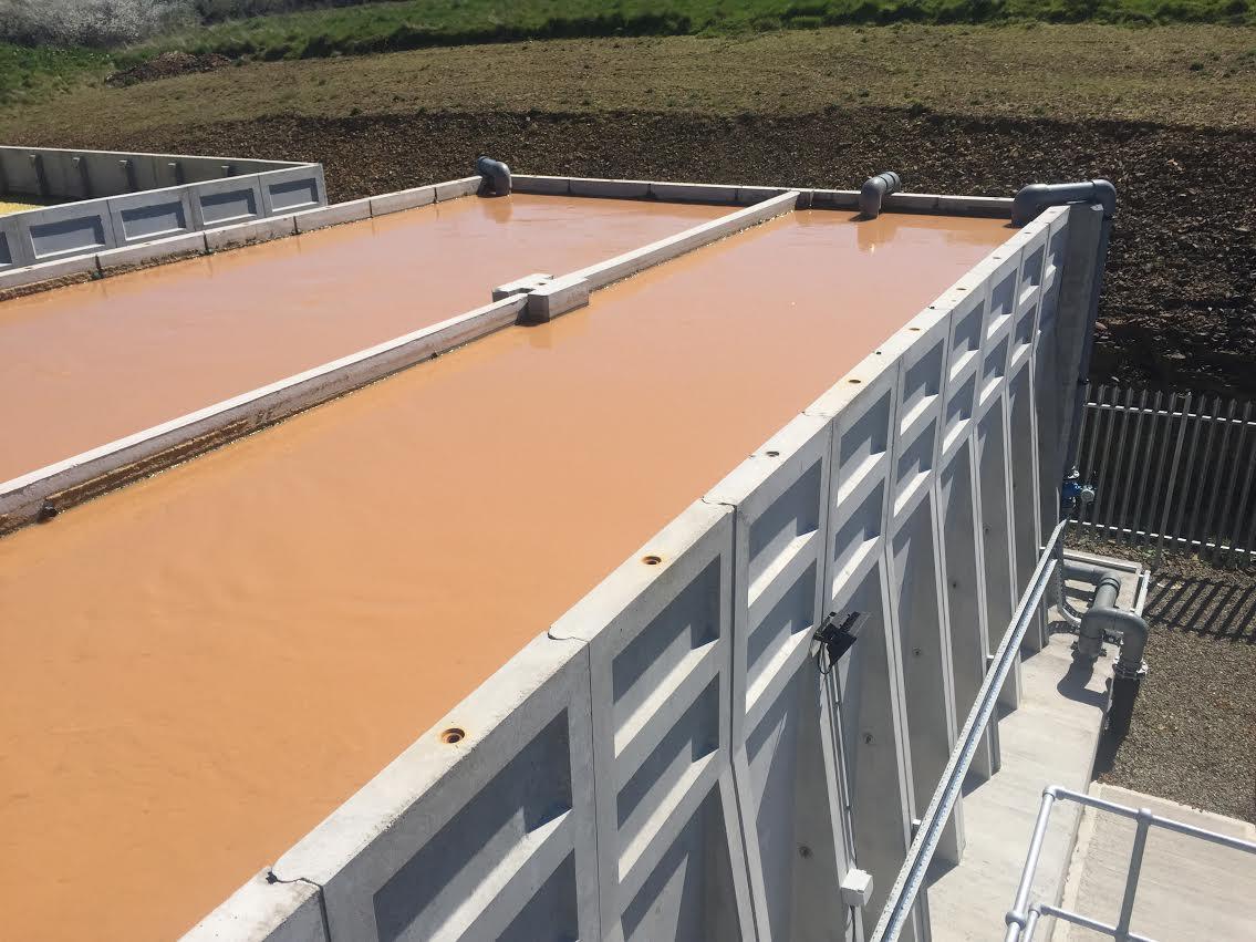 Whites Concrete effluent tank