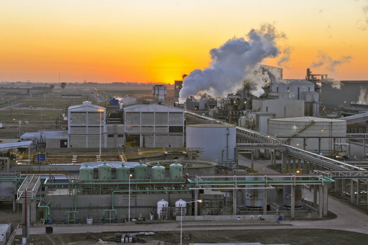 Soya crushing facility in Argentina