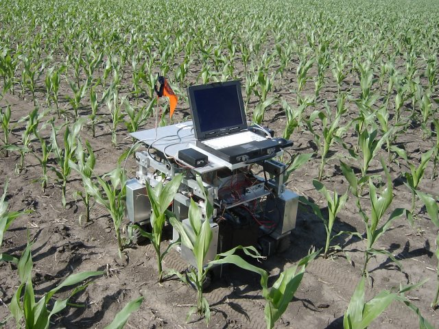 There are already hundreds of mobile agricultural robots in existence