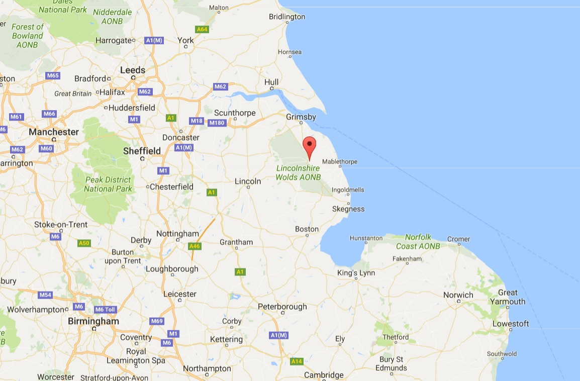 More than 5,000 birds at the farm have been affected (Louth, north Lincolnshire - Google Maps)