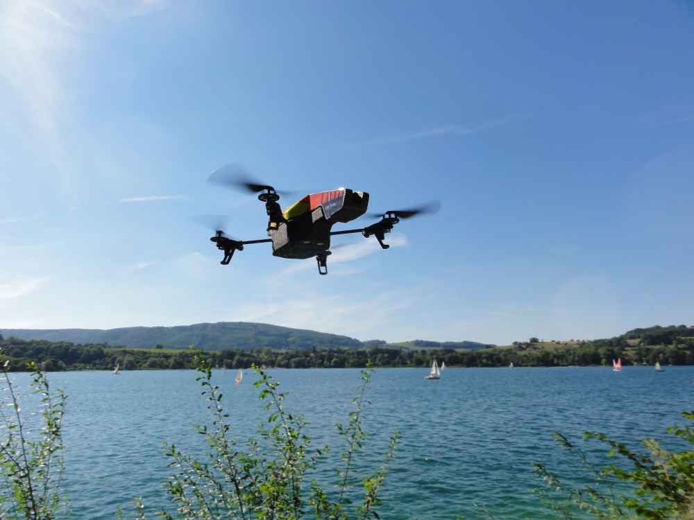 Research has revealed that agricultural firms are leading the adoption of drone technology (Photo: Nicolas Halftermeyer)