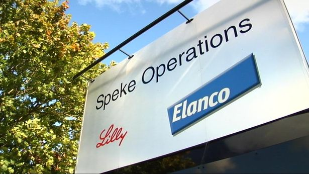 The Elanco Animal Health manufacturing plant in Speke has announced major cutbacks that could lead to 140 job losses. (Photo: Elanco)