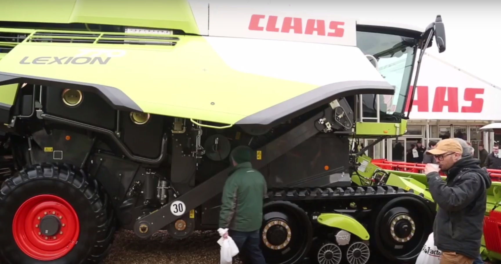 LEXION 600 combine, which for 2017 see's the addition of a number of new features and improvements
