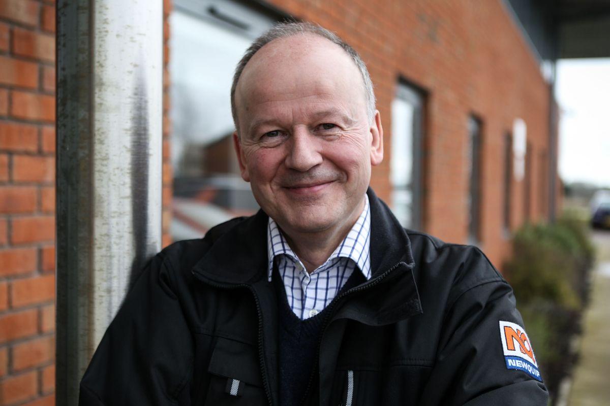 Richard Buchan, Newquip technical sales adviser