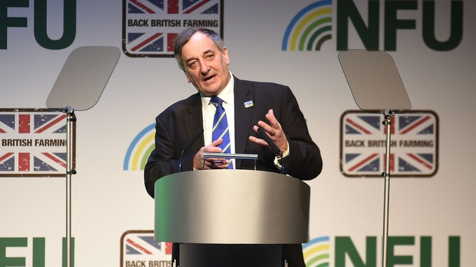 NFU President Meurig Raymond said the importance of agriculture must not be underestimated