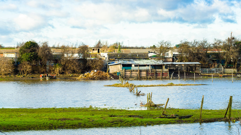 Flood-hit farm groups given £800,000