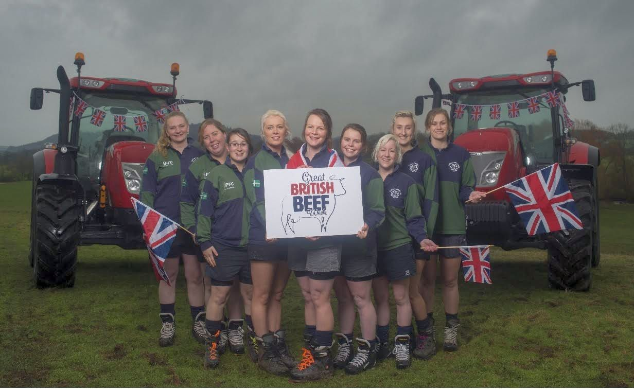 The Haldon Ladies tug of war team attribute part of their success down to great nutrition and healthy eating, which includes beef