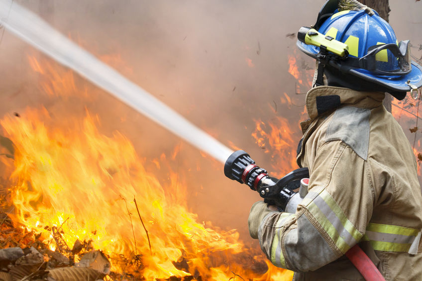 The Scottish Fire and Rescue Service was called to the incident at Blackpots Farm (Stock photo)