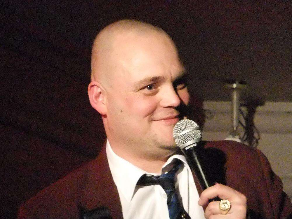 Comedian Al Murray's, who is famous for his alter-ego the Pub Landlord, shared his farm safety story today