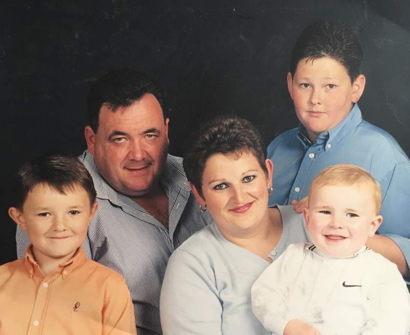 The Fisher family tragically lost their father Peter due to falling objects