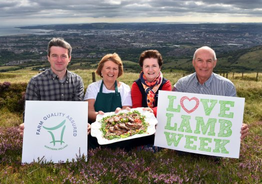 Love Lamb Week is one of the initiatives within AHDB's commitment to inspire British agriculture