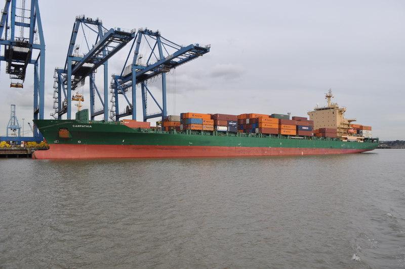Port of Tilbury, Essex - the principal port for London