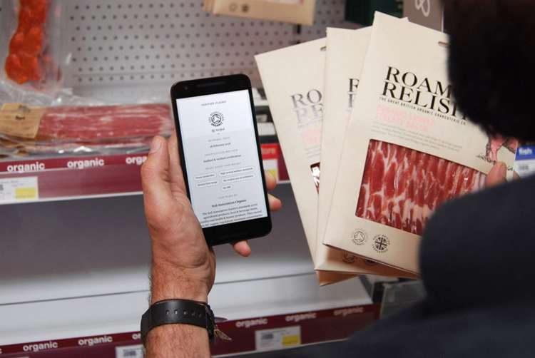 With a simple scan, consumers will be able to delve deep into their food's journey (Photo: Provenance/Soil Association)