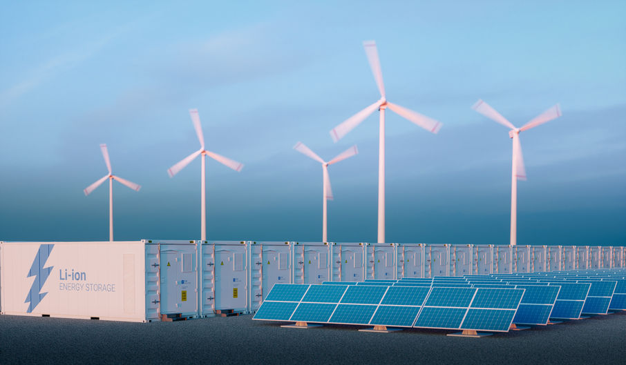 Energy storage systems enable electricity to be released into the system when it is needed