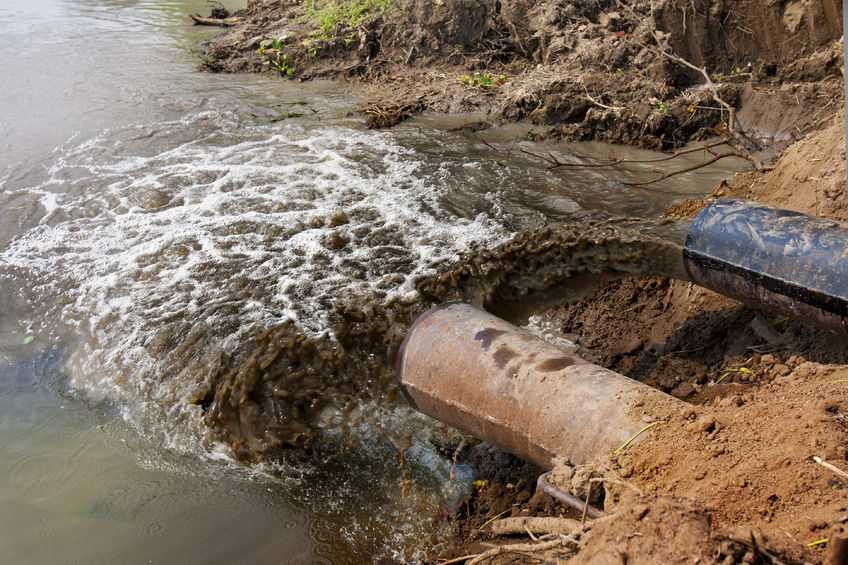 """More than 600 metres of the stream was affected by a """"chronic and continuing"""" pollution (Stock photo)"""