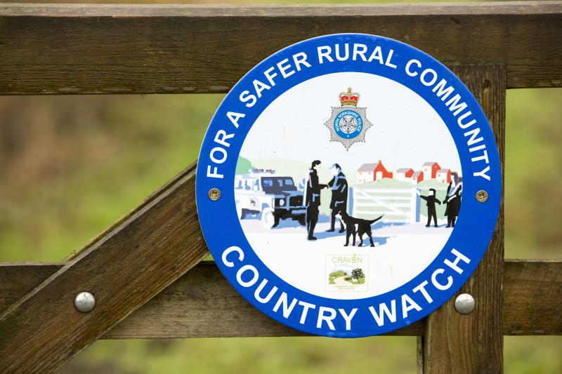 Vehicle theft, hare coursing and fly-tipping are contributing to widespread anger in the farming community