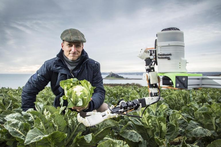 "The researchers say machines will make life ""easier and simpler"" as a farmer (Photo: University of Plymouth)"