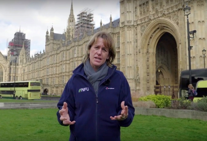 NFU President Minette Batters has called on farmers to respond to the consultation, with only one day left remaining (Photo: NFU)
