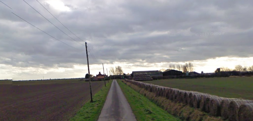 The two men died on Newlands Farm, East Yorkshire (Photo: Google Maps)