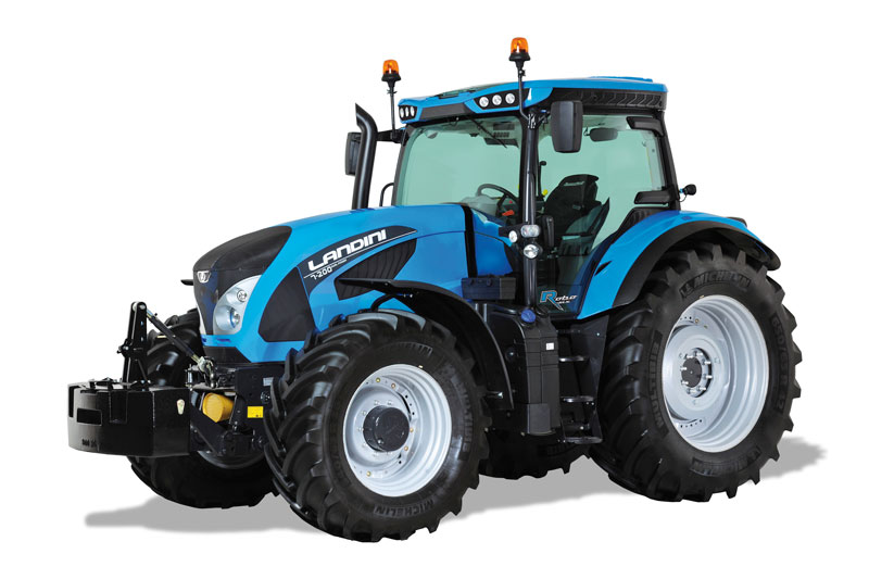 New Landini 7 Series Robo-Six tractor will have its UK launch at the Royal Highland Show.