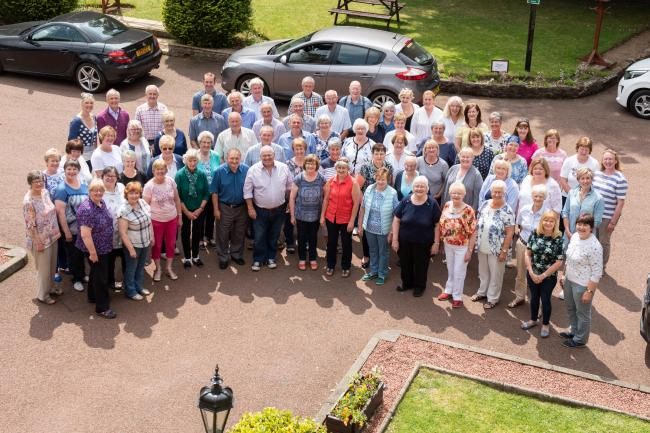 "The Farmers & Farmers Wives Choir have recorded a cover version of ""Carry You Home"" by UK country-pop duo Ward Thomas"