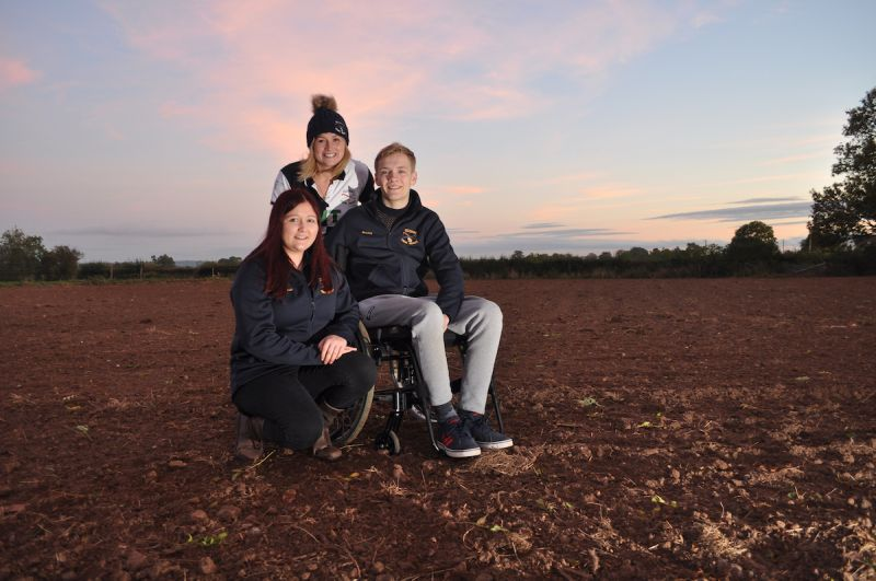 21-year-old Dan Moseley, member of Eccleshall YFC, said the organisation provided him support following a life-changing injury
