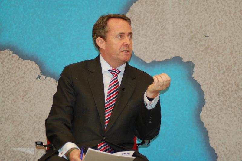 Government ministers, including Dr Liam Fox, met with the global agri-tech companies to drive further investment into the UK farming industry