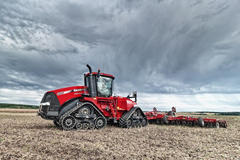 Case IH Steiger/Quadtrac 600 comes in at third place