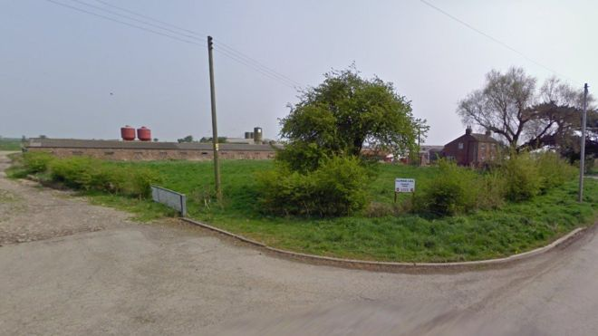 The animal abuse occurred on Fir Tree Farm in Goxhill, North Lincolnshire (Photo: Google)