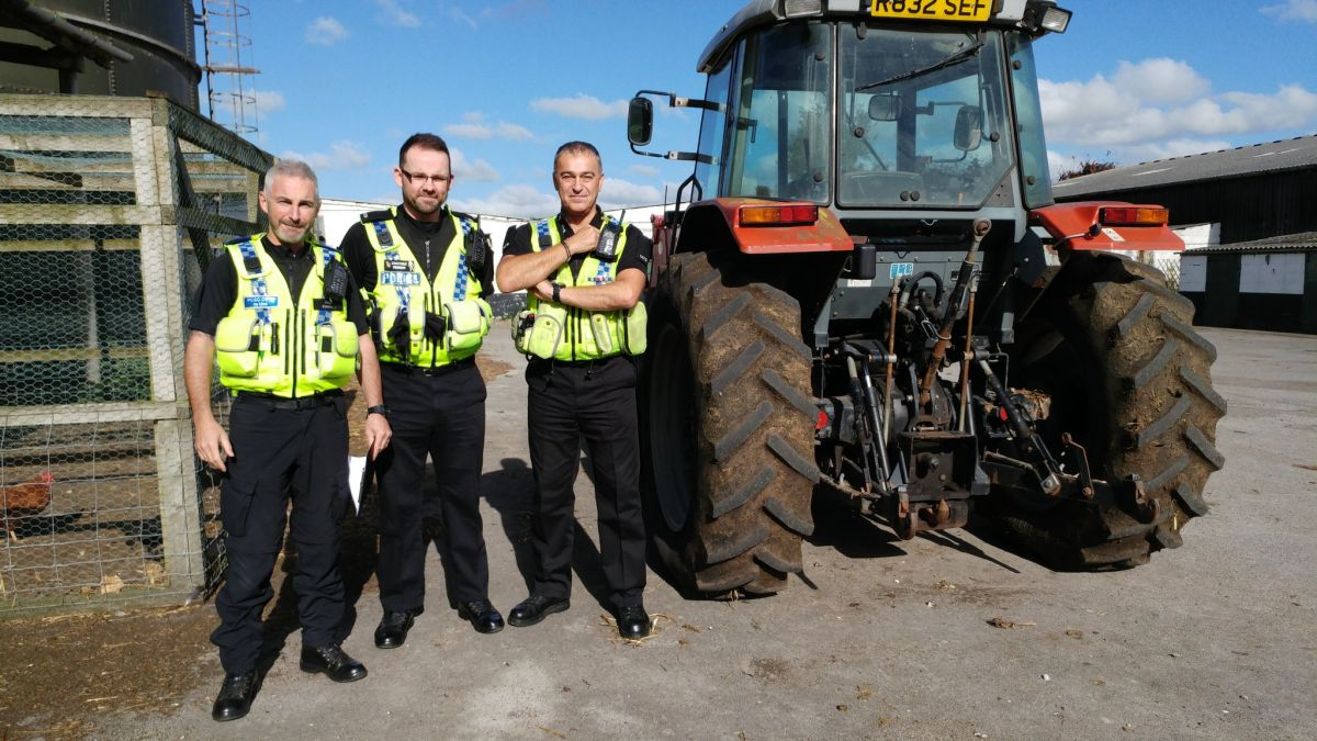 Statistics show that crime in the countryside is increasing