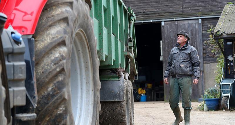 Farmer Will Dickinson believes farmers want to stay safe, but that it shouldn't be made difficult to do so