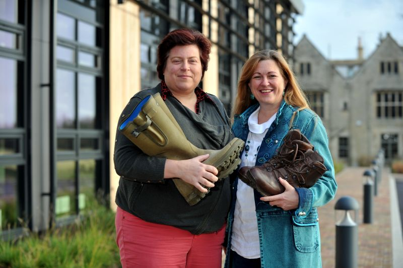 Fiona Galbraith (left) and Wendy Faux are organising a networking event at RAU to promote army personnel entering farming and the wider rural sector