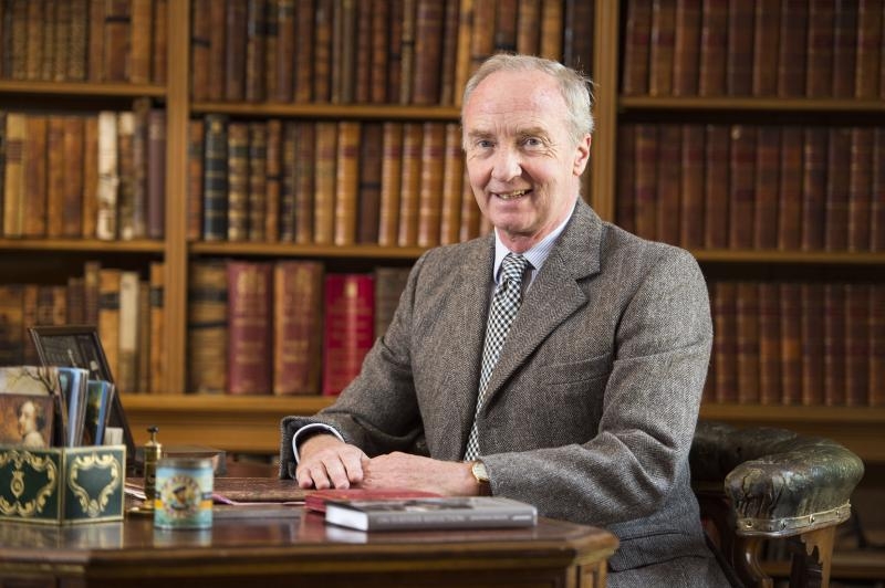 The Duke of Buccleuch has announced he is to step down as chairman of the group at the beginning of March
